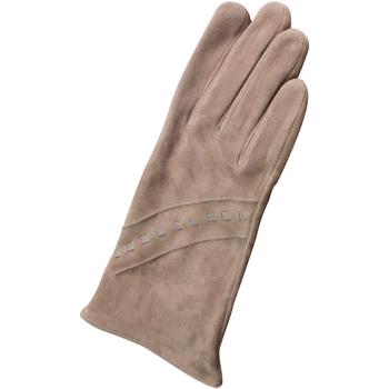 Asusteet / tarvikkeet Naiset Hanskat Eastern Counties Leather Sian Taupe