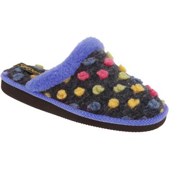 kengät Naiset Tossut Sleepers Donna Blue/Multi