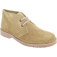 kengät Naiset Bootsit Roamers Round Toe Camel