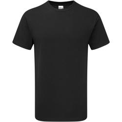 vaatteet Miehet Lyhythihainen t-paita Gildan H000 Black