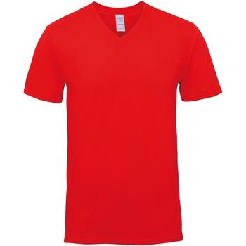 vaatteet Miehet Lyhythihainen t-paita Gildan GD016 Red