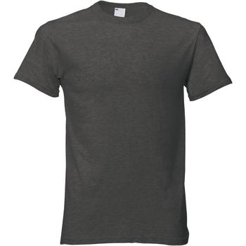 vaatteet Miehet Lyhythihainen t-paita Universal Textiles 61082 Graphite