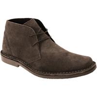 kengät Miehet Bootsit Roamers Desert Dark Brown