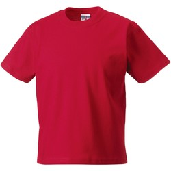vaatteet Lapset Lyhythihainen t-paita Jerzees Schoolgear ZT180B Classic Red