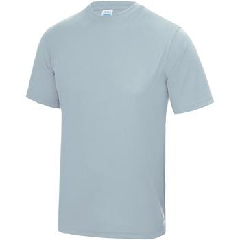 vaatteet Miehet Lyhythihainen t-paita Awdis JC001 Sky Blue