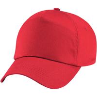 Asusteet / tarvikkeet Tytöt Lippalakit Beechfield B10B Bright Red