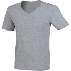 vaatteet Miehet Lyhythihainen t-paita Sf SF223 Heather Grey