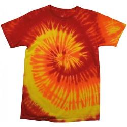 vaatteet Naiset Lyhythihainen t-paita Colortone Rainbow Blaze