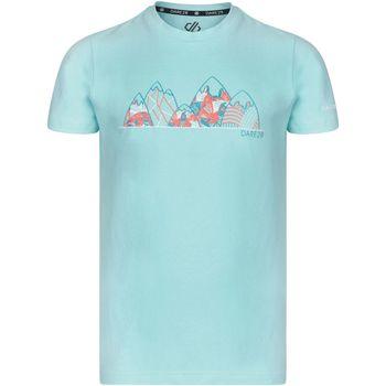 vaatteet Lapset Lyhythihainen t-paita Dare 2b Frenzy Aruba Blue Mountain