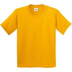 vaatteet Lapset Lyhythihainen t-paita Gildan 5000B Gold