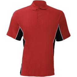 vaatteet Miehet Lyhythihainen poolopaita Gamegear KK475 Red/Black/White