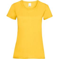 vaatteet Naiset Lyhythihainen t-paita Universal Textiles 61372 Gold