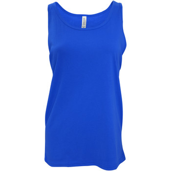 vaatteet Naiset Hihattomat paidat / Hihattomat t-paidat Bella + Canvas CA3480 True Royal