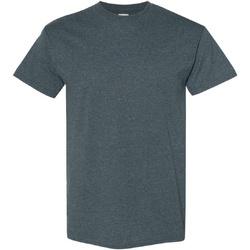 vaatteet Miehet Lyhythihainen t-paita Gildan Heavy Dark Heather