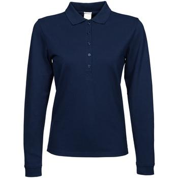 vaatteet Naiset Pitkähihainen poolopaita Tee Jays TJ146 Navy Blue