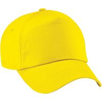 Asusteet / tarvikkeet Tytöt Lippalakit Beechfield B10B Yellow