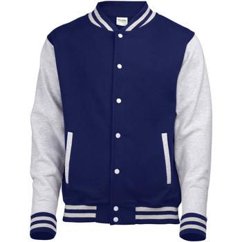 vaatteet Pusakka Awdis JH043 Oxford Navy / Heather Grey