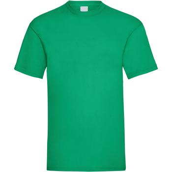 vaatteet Miehet Lyhythihainen t-paita Universal Textiles 61036 Green