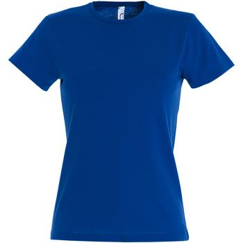 vaatteet Naiset Lyhythihainen t-paita Sols Miss Royal Blue