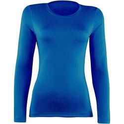 vaatteet Naiset T-paidat pitkillä hihoilla Rhino  Royal
