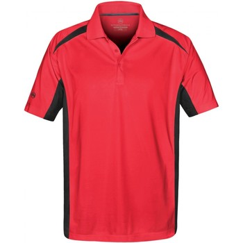 vaatteet Miehet Lyhythihainen poolopaita Stormtech ST955 Red/Black