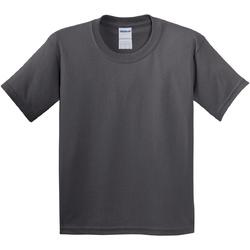 vaatteet Lapset Lyhythihainen t-paita Gildan 64000B Charcoal