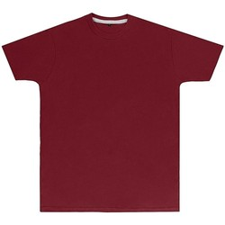vaatteet Miehet Lyhythihainen t-paita Sg Perfect Burgundy