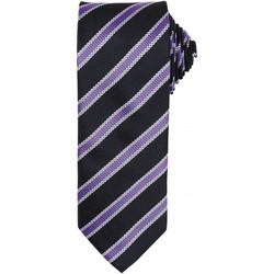 vaatteet Miehet Solmiot ja asusteet Premier PR783 Black/Rich Violet