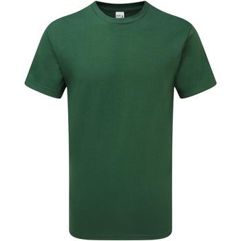 vaatteet Miehet Lyhythihainen t-paita Gildan H000 Sport Dark Green