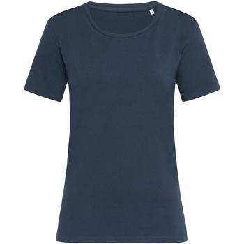 vaatteet Naiset Lyhythihainen t-paita Stedman  Marina Blue
