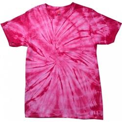 vaatteet Lapset Lyhythihainen t-paita Colortone Spider Spider Pink