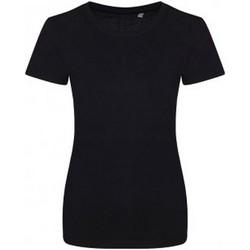 vaatteet Naiset Lyhythihainen t-paita Ecologie EA01F Jet Black