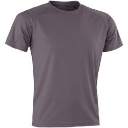 vaatteet Lyhythihainen t-paita Spiro Aircool Grey