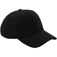 Asusteet / tarvikkeet Lippalakit Beechfield B677 Black