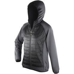 vaatteet Naiset Toppatakki Spiro S268F Black/Charcoal