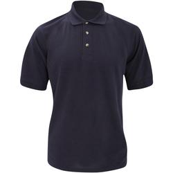 vaatteet Miehet Lyhythihainen poolopaita Kustom Kit Chunky Navy Blue