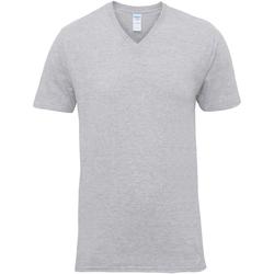 vaatteet Miehet Lyhythihainen t-paita Gildan 41V00 Sport Grey
