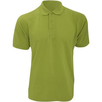 vaatteet Miehet Lyhythihainen poolopaita Kustom Kit KK403 Apple Green