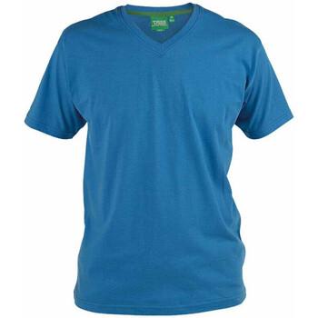 vaatteet Miehet Lyhythihainen t-paita Duke Signature-2 Blue