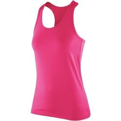 vaatteet Naiset Hihattomat paidat / Hihattomat t-paidat Spiro SR281F Candy