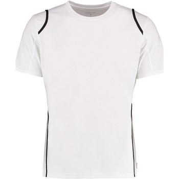 vaatteet Miehet Lyhythihainen t-paita Gamegear Cooltex White/Black