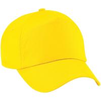 Asusteet / tarvikkeet Lippalakit Beechfield B10 Yellow