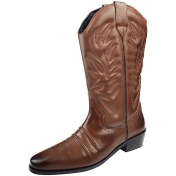 kengät Miehet Saappaat Woodland High Clive Dark Brown