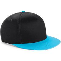 Asusteet / tarvikkeet Lapset Lippalakit Beechfield BC615 Black/ Surf Blue