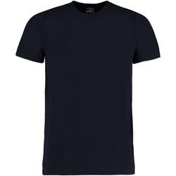 vaatteet Miehet Lyhythihainen t-paita Kustom Kit KK504 Navy Blue
