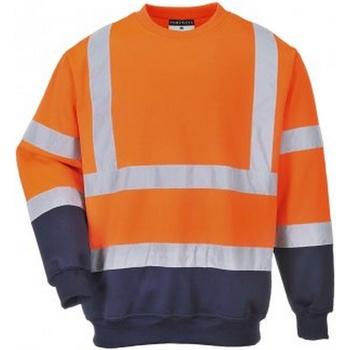 vaatteet Miehet Svetari Portwest PW668 Orange/Navy