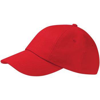 Asusteet / tarvikkeet Lippalakit Beechfield Drill Cap Classic Red