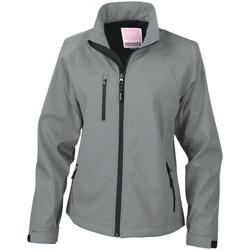 vaatteet Naiset Pusakka Result Breathable Silver Grey