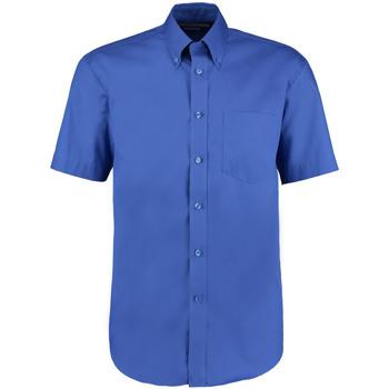 vaatteet Miehet Lyhythihainen paitapusero Kustom Kit KK109 Royal Blue