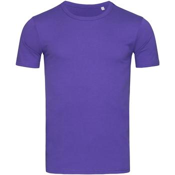 vaatteet Miehet Lyhythihainen t-paita Stedman Stars Morgan Deep Lilac
